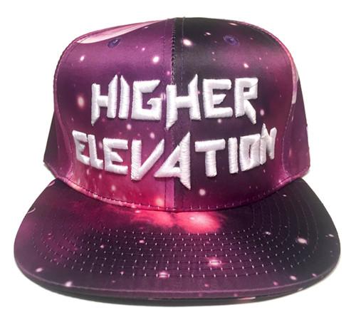 e358f69887808 Higher Elevation - Purple Galaxy Snapback