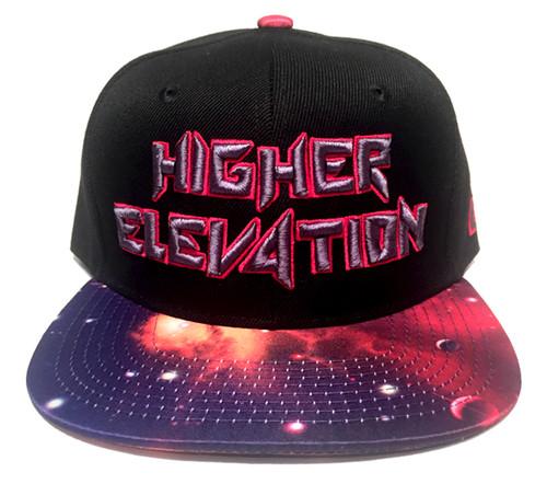 42979ea52a11b Higher Elevation - Black Cosmic Galaxy Snapback