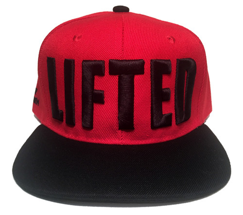 LIFTED Higher Elevation - Red/Black Snapback