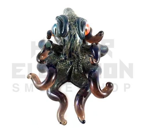 Berning Glass Octopus Pendant #4