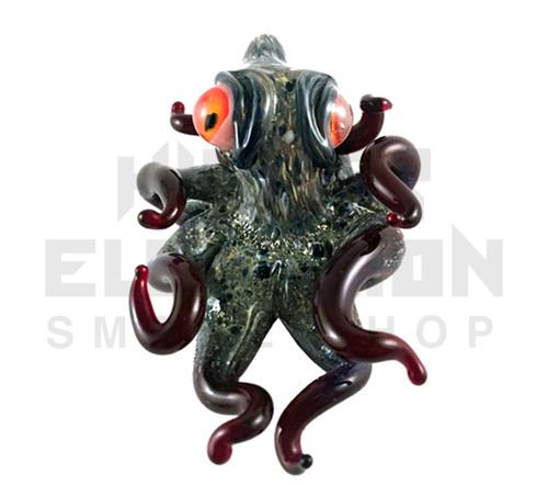 Berning Glass Octopus Pendant #5