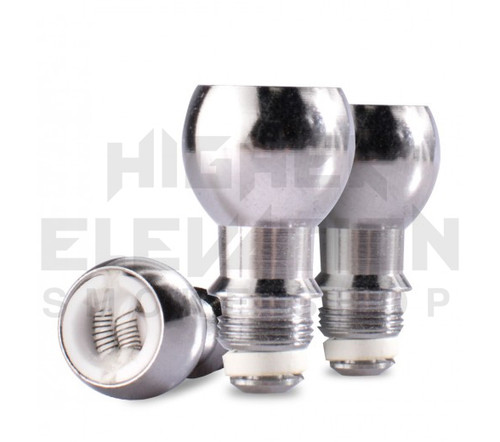 Titanium Dual Coil Dome Atomizer 3 pk by Wulf Mods