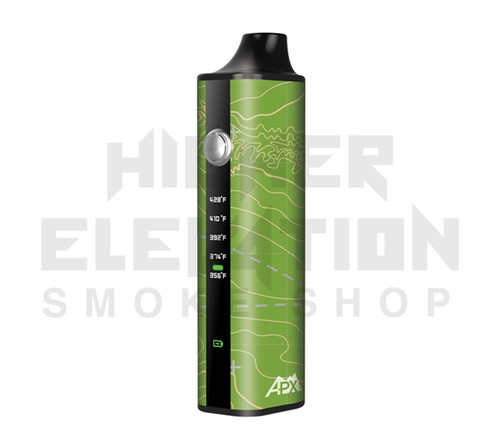 Pulsar® APX Dry Herb Vaporizer - Topo Map