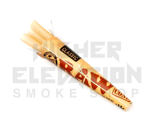 Raw Pre-Rolled Cones King Size (Pack of 3)