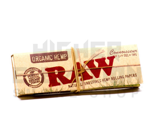 """Raw Organic Hemp Connoisseur 1 1/4"""" Papers (Out of Stock)"""