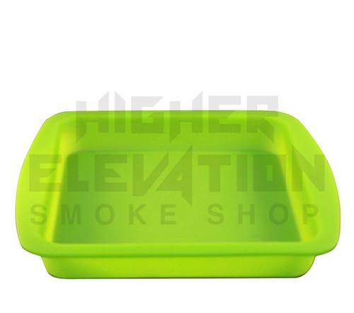 "Silicone Tray 9.5"" x 9"" x 1.25"" - Green"