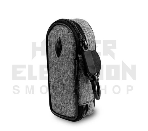 """5"""" Coffin Pipe Bag by Vatra - Charcoal Gray Woven"""