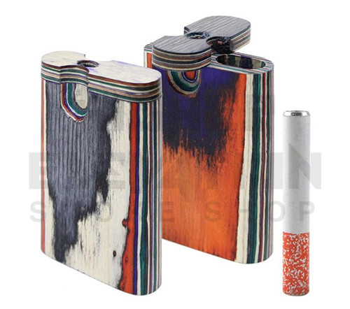 Handmade Wooden Dugout w/ One Hitter - Assorted Colors (Out of Stock)