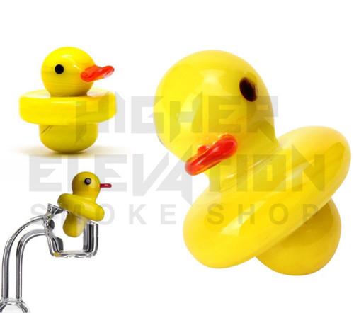 Rubber Duck Glass Carb Cap