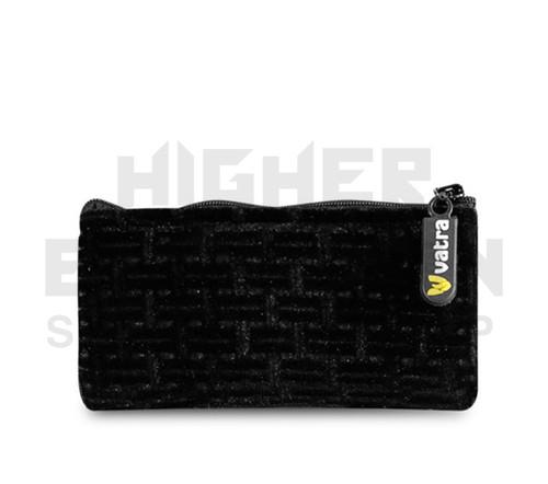 "5.5"" Zip Pipe Bag by Vatra - Black Velvet"