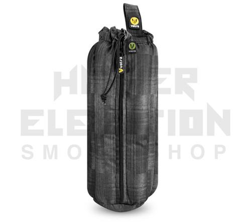 """12"""" Zip Waterpipe Tube Bag by Vatra - Black Plaid"""