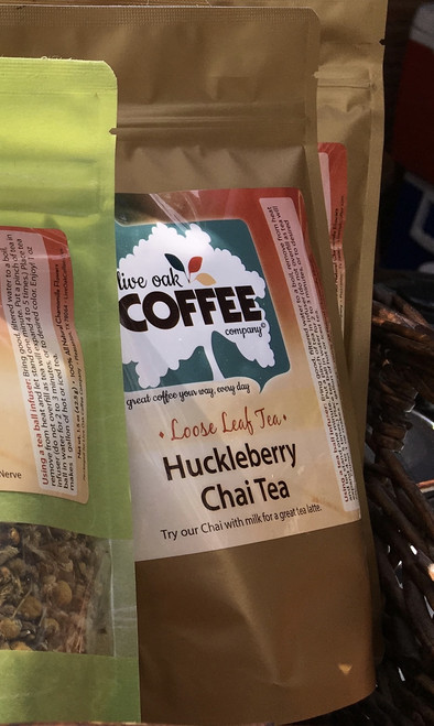 This Berry and Spicy tea is a unique flavor that will warm you through and through. One of the autumn favorites selected for brewing hot all winter long. (Don't hesitate. In Texas this only lasts a day or two at a time between heat waves!)