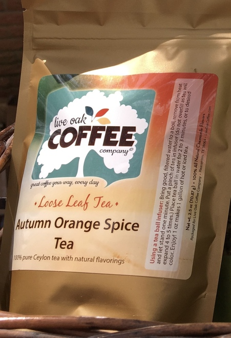 Orange and cinnamon are classic fall flavors. Brew it hot and add a cinnamon stick for some extra snap!