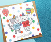 Fun Birthday Card Cats