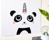 Cute panda drawing art print