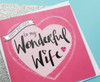 Romantic Birthday Card For Wife