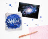 Galaxy Birthday Card Stellar
