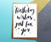 Stars Birthday Card For Her/Him