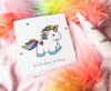 Kawaii Unicorn Birthday Card