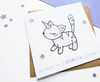 Kawaii Caticorn Birthday Card