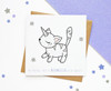 Birthday Unicorn Cat Card