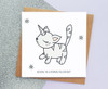 Unikitty Birthday Card