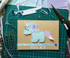 Personalised Unicorn Birthday Card Handmade