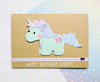 Personalised Unicorn Card Handmade