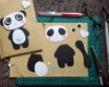 handmade personalised panda card