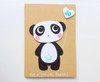 custom panda birthday card handmade