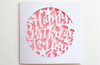 Papercut Pink HAPPY BIRTHDAY TO YOU Stars Card