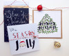 Pack of Christmas Greetings Cards Handmade