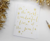 Most Wonderful Time Christmas Song Card