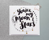 Moon and Stars Valentine's Day Card