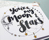 Love Cards Moon and Stars Quote
