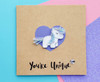 Personalised SPARKLES Unicorn Card