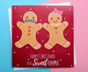 Cute Christmas Card For Couple