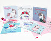 Magical Unicorns Christmas Card Pack