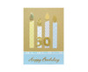 Handmade 30th Birthday Candles Card