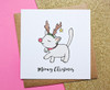 Cute Cat Christmas Card