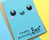 Fun Brother Birthday Card Smiley Face