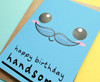 Fun Boyfriend Birthday Card Kawaii Smiley Face