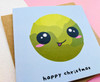 Funny Sprout Christmas Card Kawaii