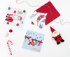 Santa Hat Christmas Cards Set of 3