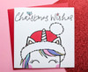 Cute Christmas Unicorn Card