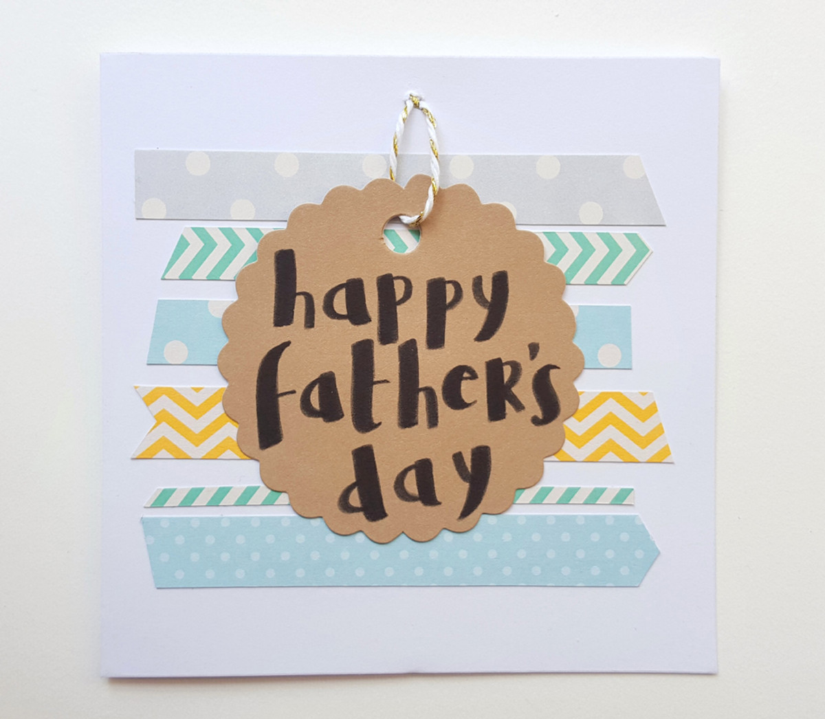 Banners Father's Day Card
