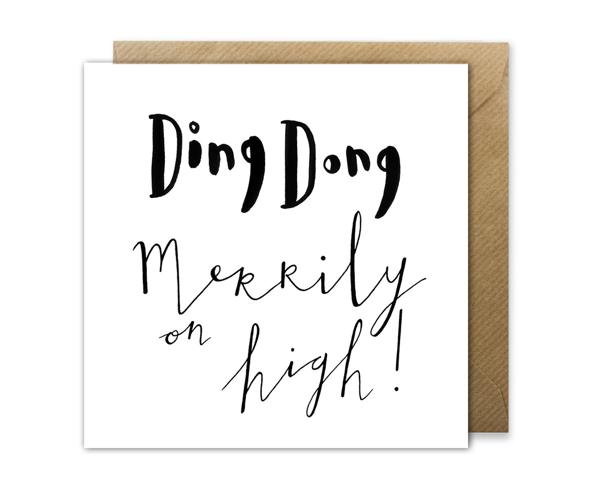 Ding Dong Christmas Greetings Card