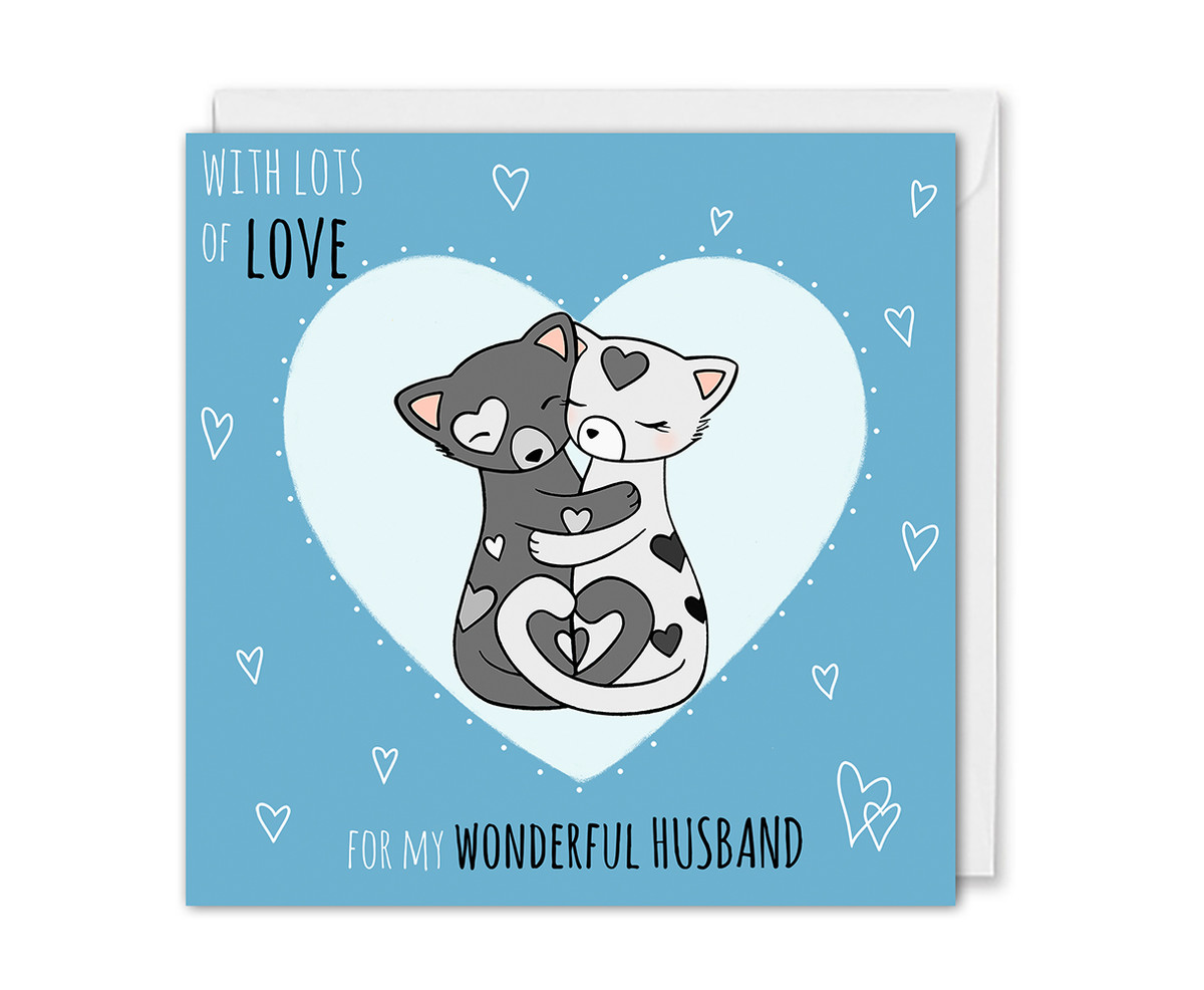 Cute Love Card For Husband Birthday