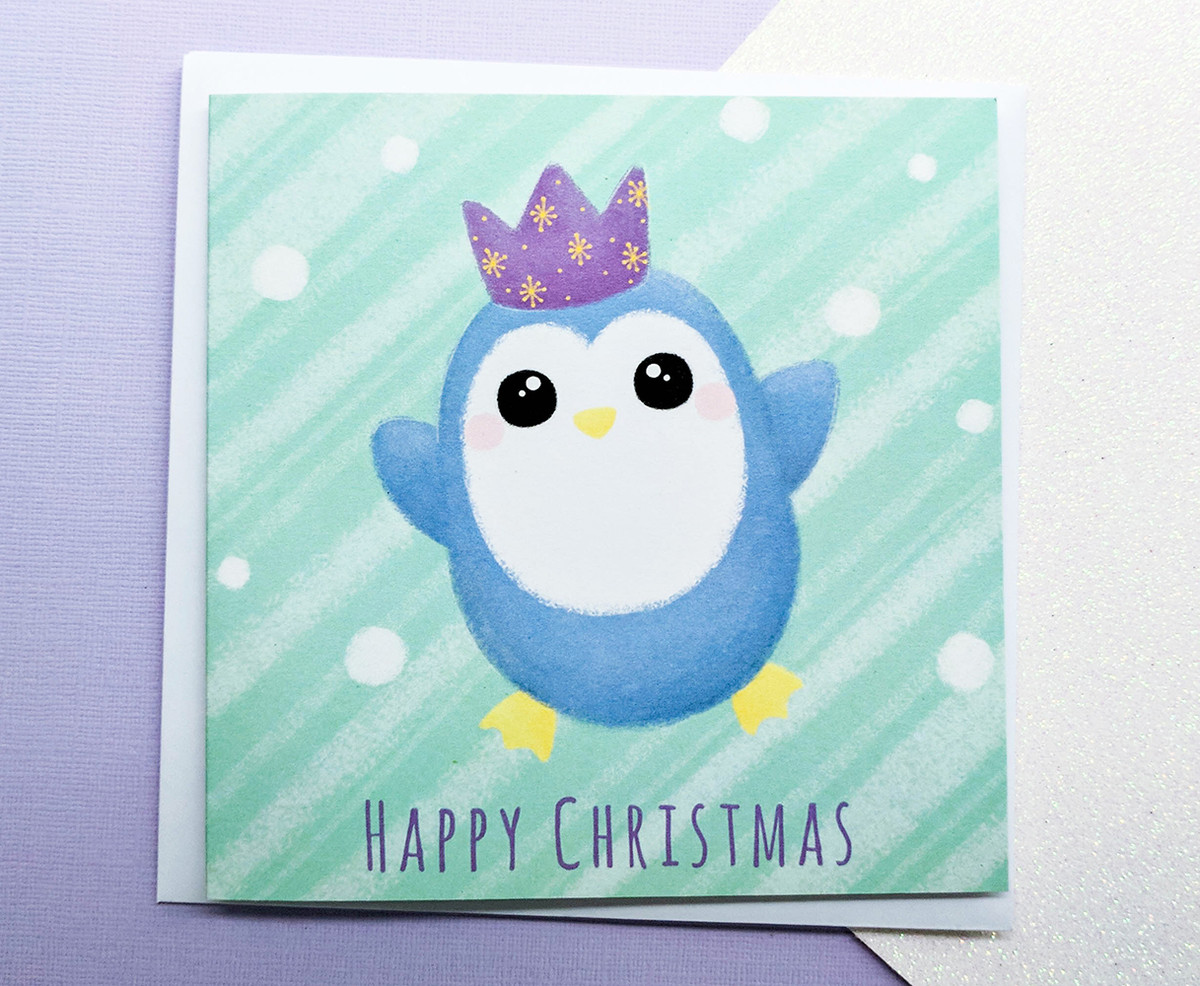 PING Penguin Christmas Card
