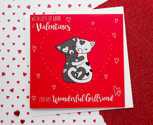 HOLD ME TIGHT Girlfriend Valentine's Card